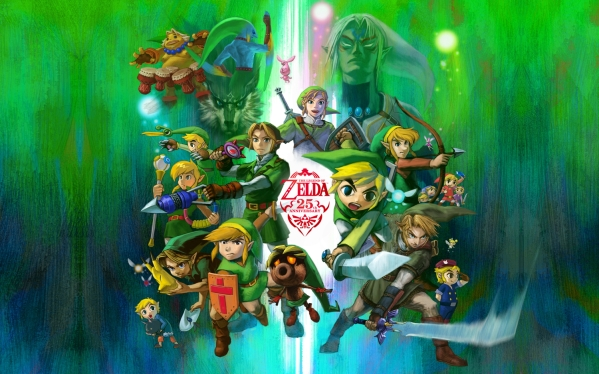 legend-of-zelda-25th-anniversary-wallpaper