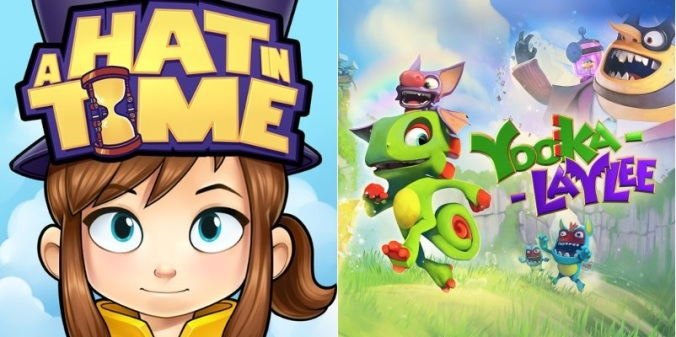 A Hat in Time VS Yooka-Laylee